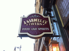 J Gardellas Sign